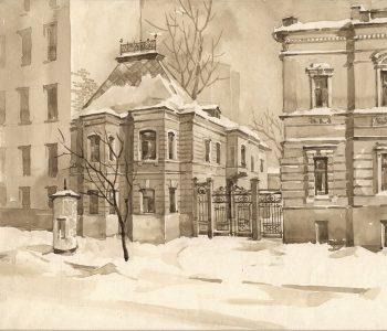 Выставка «Чеховская Москва в графике Владислава Низова»