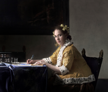 "Exhibition ""Revived paintings by Jan Vermeer"""