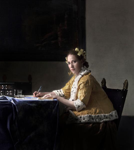Выставка «Ожившие картины Яна Вермеера»
