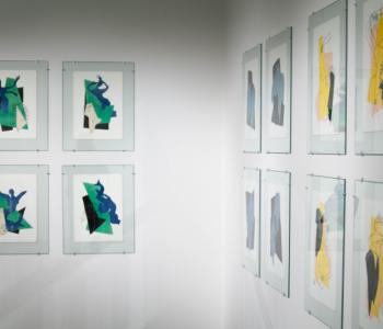 Встреча в экспозиции выставки «Скульпторы и livre d'artiste»