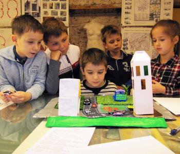 Детские летние курсы в Государственном музее архитектуры имени А.В. Щусева