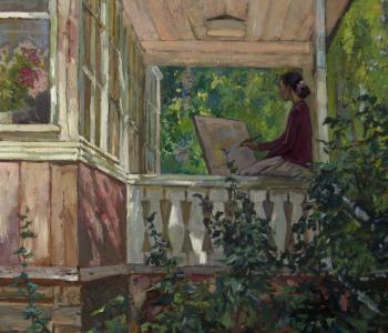 """Exhibition of Olga Melnikova's painting """"Summer season"""""""