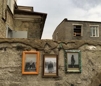 Иван Лунгин. Wall portraits