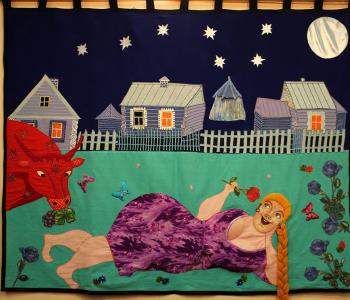 Выставка произведений Нины Буденной