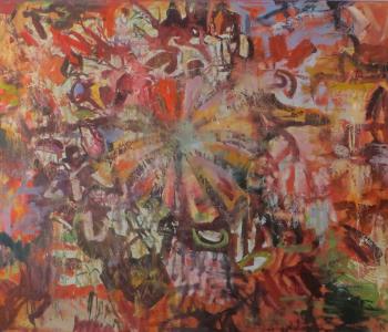 Выставка произведений Алана Калманова, Заурбека Дзанагова и Мадины Калмановой.