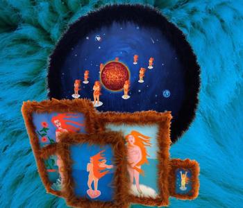 Открытие новой галереи Syntax. Выставка группы Еликука «Венеры в мехах»