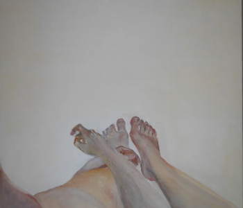 Дискуссия «Изображение взгляда» в рамках выставки Алены Терешко «Это яблоко»