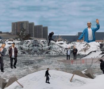 Выставка Артема Голощапова «Нелепое равновесие»
