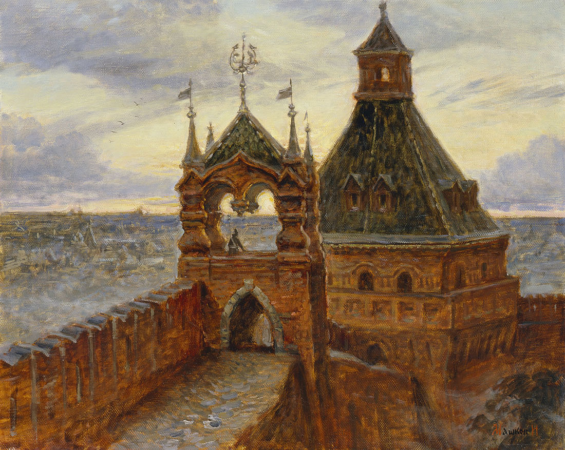«По Реке Времени» Выставка произведений Игоря Машкова