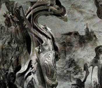 Выставка «Фрактальное соединение» Лисандро Сабио
