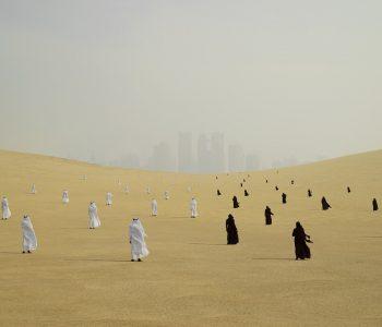 «Белое солнце» Выставка работ, объединенных историческим контекстом Катара на Cosmoscow