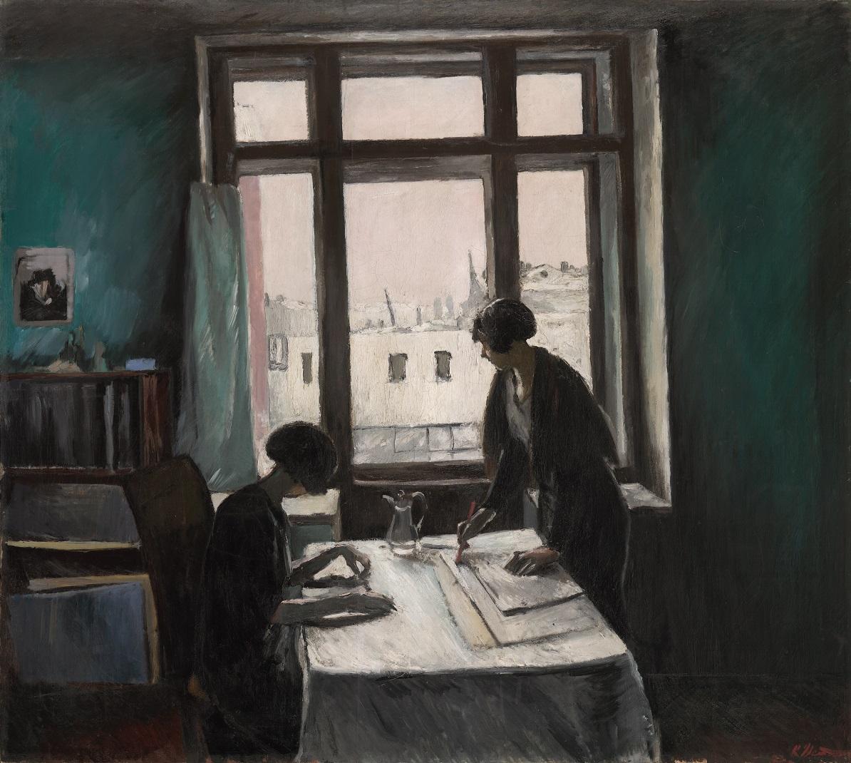 Константин Истомин. Цвет в окне