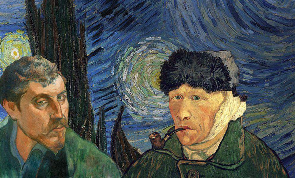 Ван Гог и Гоген в Москве