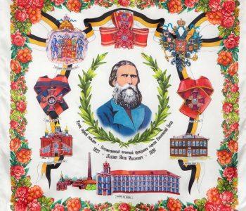 Цветочная симфония павловопосадской шали