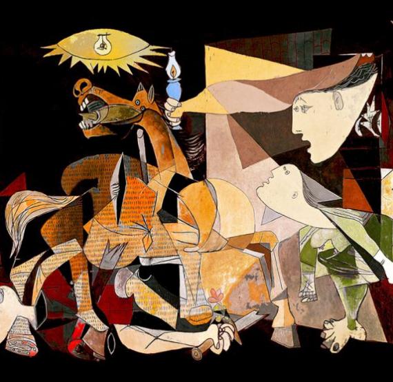 """Онлайн лекция. """"Пабло Пикассо. Шедевры кубизма"""""""