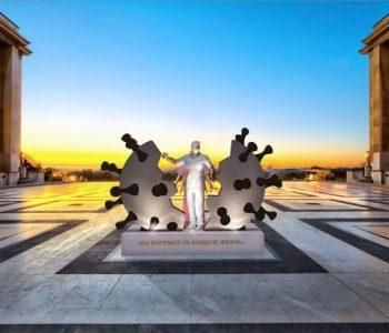 Названы ТОП-3 лучших проектов памятников врачам-героям, спасающим людей от COVID-19