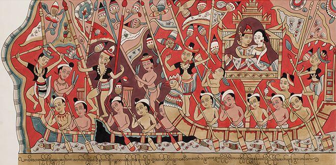 Великие правители Мьянмы в летописях и искусстве
