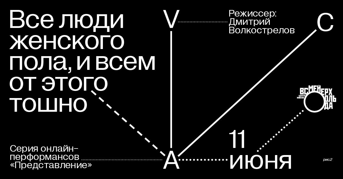 Серия из трех онлайн-перформансов режиссера Дмитрия Волкострелова