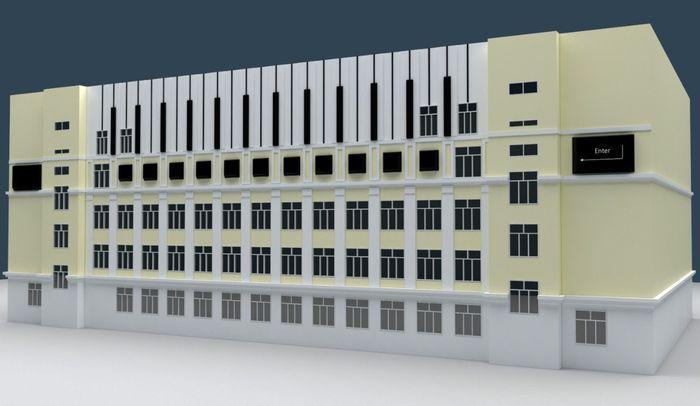 Авторская школа Казарновского «Класс-центр» станет арт-объектом