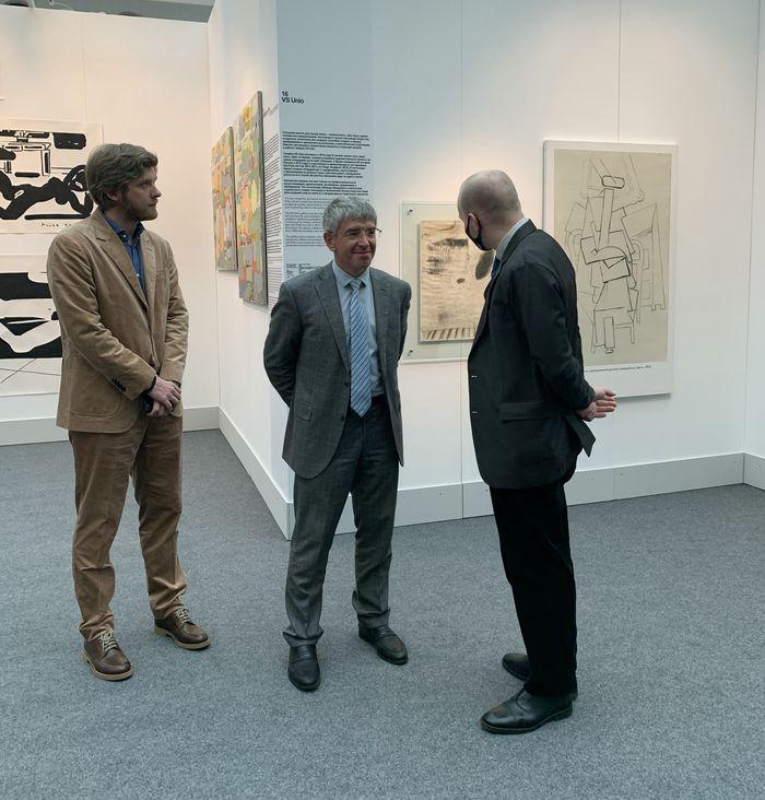Превью 8-й международной ярмарки современного искусства Cosmoscow