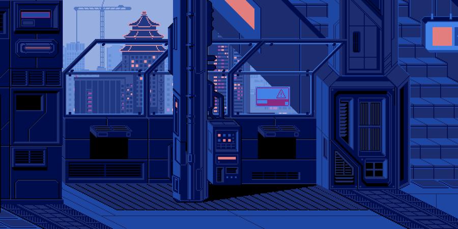 Поезд «Москва – Токио»: пиксель арт проект художницы waneella