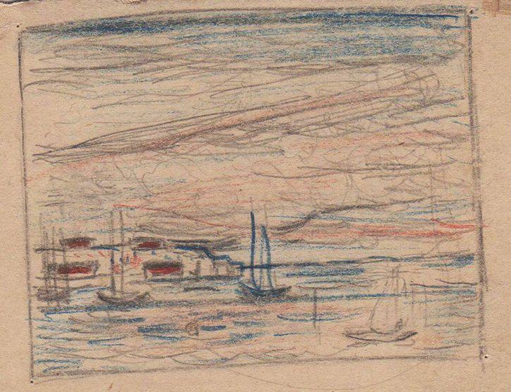 Константин Истомин. Маленькие рисунки и акварели