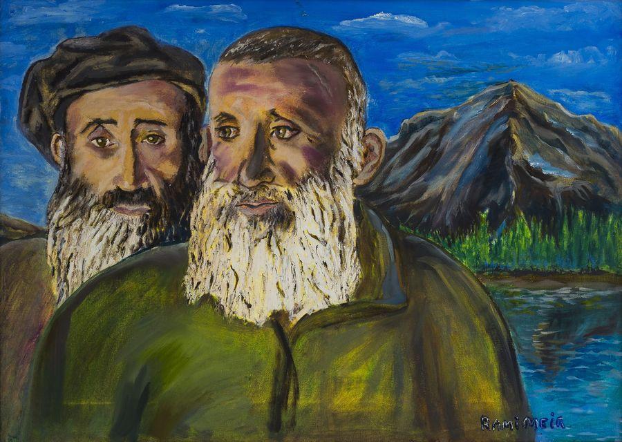 Собрание музея Востока пополнится картиной «Горские евреи-земледельцы» современного художника Рами Меира