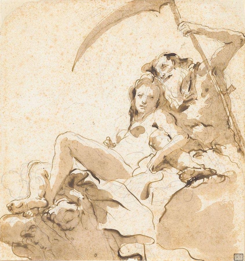 Графика XVIII века. Выставка произведений из частных коллекций
